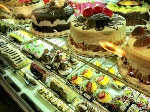 Some of the French pastries at Shatila Bakery