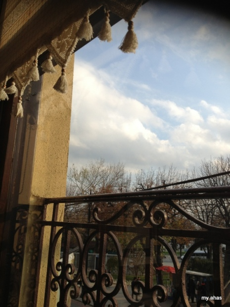 View from our table at Sultanahmet Koftecisi