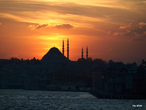 Silhouettes, Istanbul.