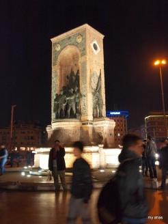 Republic Monument, Taksim Square.
