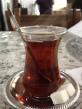 Lovely, warm Turkish tea.