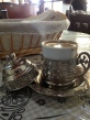 Turkish coffee. We wish we had bought a coffee set here as it turned out to be the least expensive place we saw them.