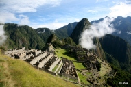The clouds seem to change every moment at Machu Picchu.
