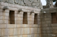 """The acoustics in some of these niches is incredible! This is inside what Bingham called """"the most beautiful wall."""""""