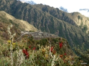 The cliff-hugging Inca town of Sayaqmarka