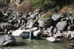 ...across the Urubamba River...
