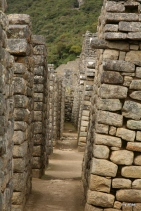 Incan hallway.