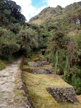 The most beautiful site on the Inca Trail? Maybe!