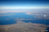 We were excited to see Lake Titicaca on our flight from Lima to Santa Cruz.