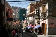 Street view, La Paz.