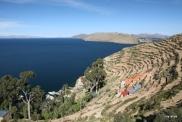 Locals still farm the Incan terraces