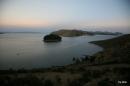 Isla del Sol, nearing sunset