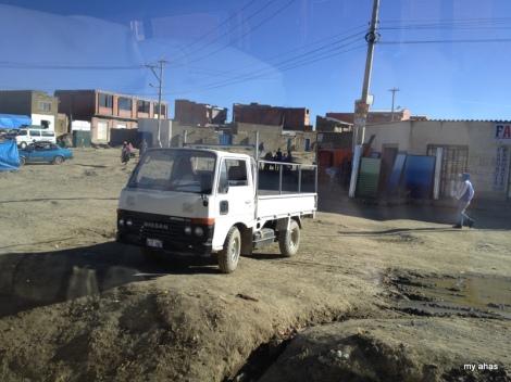 Common scene in El Alto.