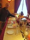 Breakfast buffet, Hotel Colon Inn.