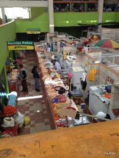Puno's Central Market