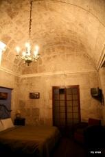 Our room at La Casa de Melgar.