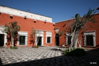 Courtyard of La Casa del Moral, 1730.