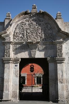 Entryway of La Casa del Moral, 1730.