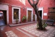 Our room at La Casa de Melgar (#102) was off this courtyard.