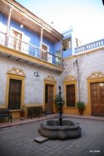Another courtyard at La Casa de Melgar.