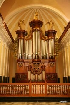 La Catedral, Interior Pipe Organ, largest in South America