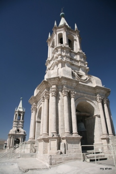 La Catedral, Rooftop Bell Towers