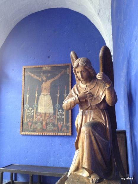 Sculpture at La Casa del Moral