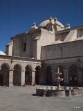 Claustros de la Campañía, view of Iglesia de la Compania