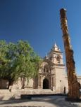 Iglesia San Juan Batista in Yanahuara.