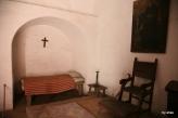 Inside a nun's cell.
