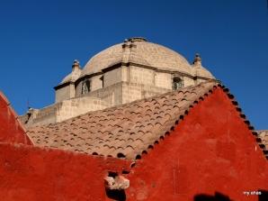 Monasterio De Santa Catalina, view from Calle Granada.