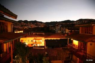 View from Amaru Hostal