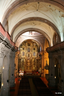 Alter of Iglesia de La Compania de Jesus