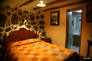 Our 2nd room at Amaru Hostal.