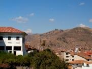 View from Qorikancha/Santo Domingo.