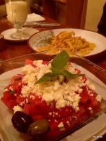 Final meal in Cusco at Granja Heidi. The tomatoes were delicious!