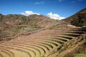 Agricultural terracing at Pisac