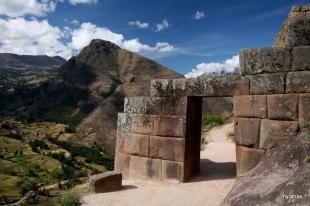 Trapezoidal Inca doorway