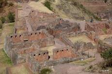 Inca ruins at Pisac--the Ceremonial Center