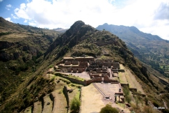 Ceremonial Center at Pisac from the other side
