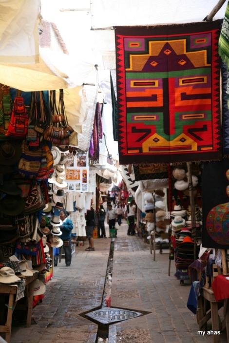 Pisac's famous craft market