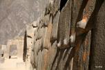 Inca wall in Ollantaytambo