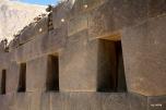 Inca niches in Ollantaytambo