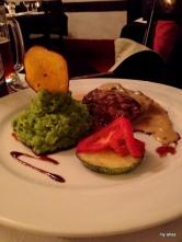 Dinner at El Albergue