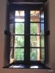 Window inside our room at El Albergue
