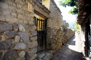 Entrance to El Albergue Farm