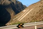 Bus ride back to Cusco; outside Urubamba
