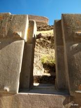 Ollantaytambo double doorway