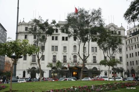 Gran Bolivar Hotel in San Martin Plaza