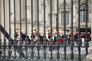 Changing of the Guard at Palacio de Gobierno